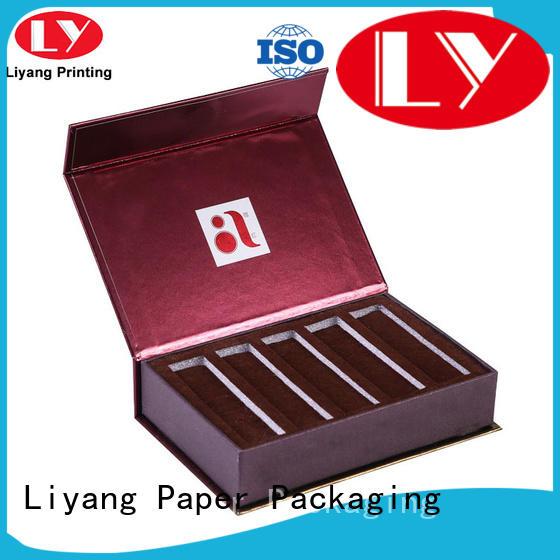 board cardboard cosmetic packaging hanger for packaging Liyang Paper Packaging