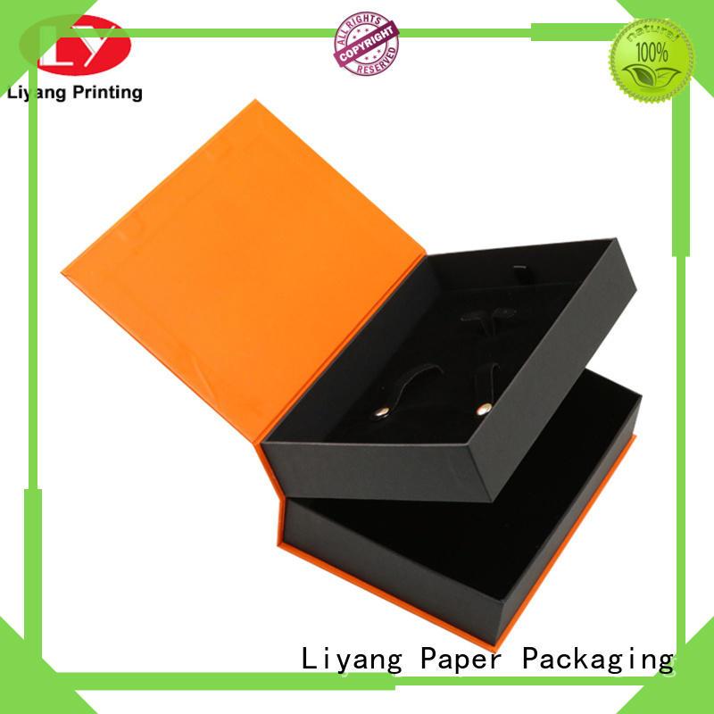 logo square gift box base for christmas Liyang Paper Packaging
