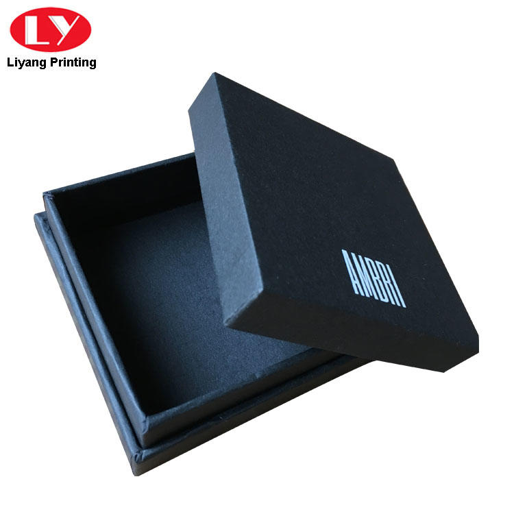 black cardboard jewelry boxes wholesale ODM for small bracelet Liyang Paper Packaging-2