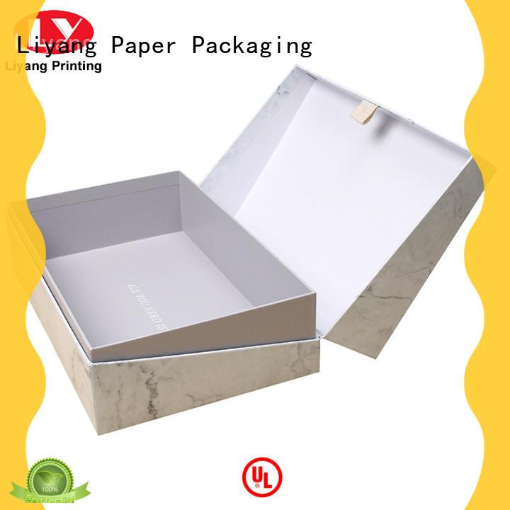 Liyang Paper Packaging luxury cosmetic gift box cardboard for packaging