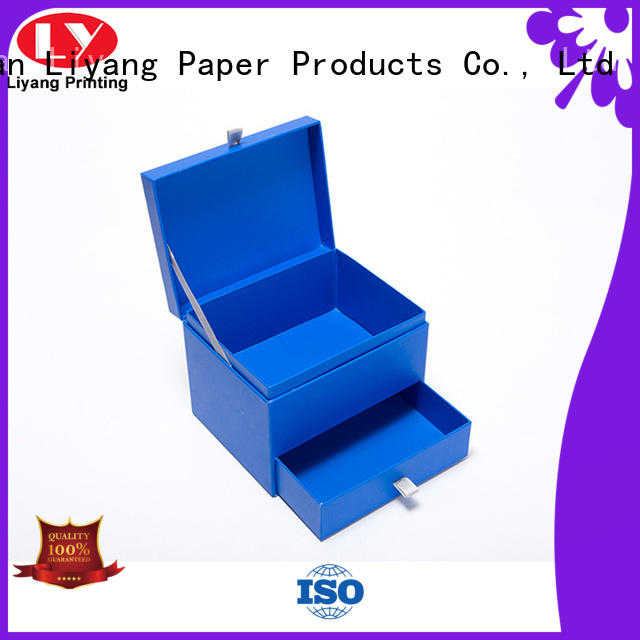 Liyang Paper Packaging colorful luxury gift box packaging fashion design for christmas