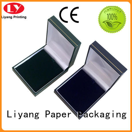 touch jewelry packaging boxes lid for small bracelet Liyang Paper Packaging