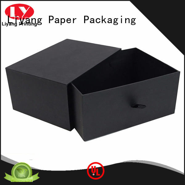 Liyang Paper Packaging printed cardboard gift boxes with lids popular for christmas