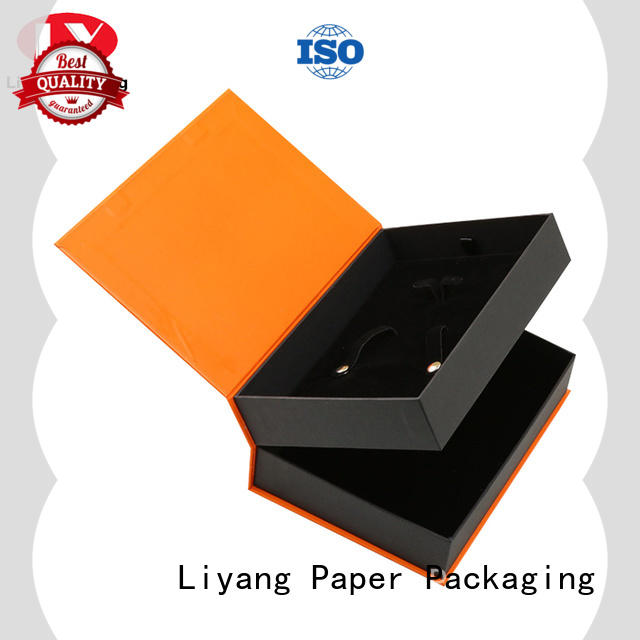 Liyang Paper Packaging shipping magnetic gift box fast delivery for bakery