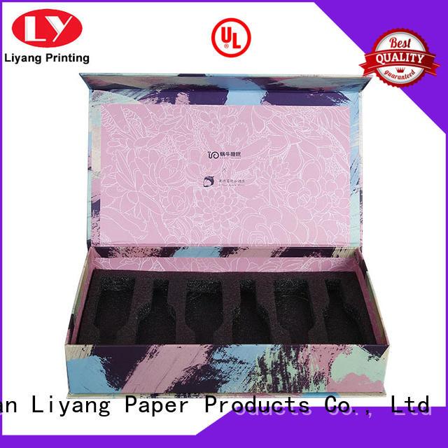 Liyang Paper Packaging luxury cardboard cosmetic box custom for makeup