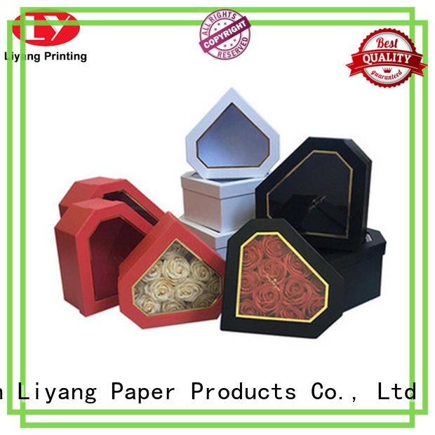 flower box packaging twist for florist Liyang Paper Packaging