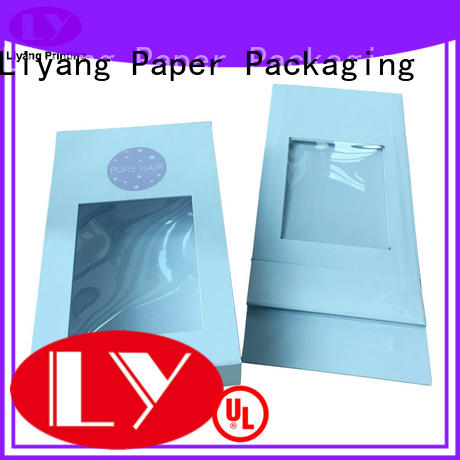 white magnetic gift box fashion design for chocolate Liyang Paper Packaging
