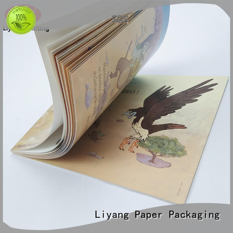 Liyang Paper Packaging custom book printing manufacturing fast delivery