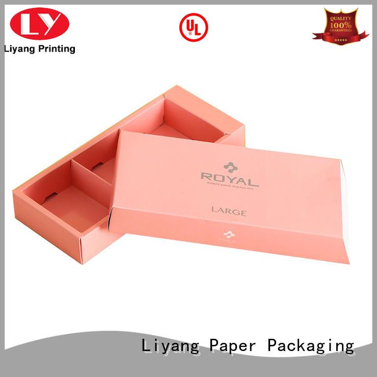 wholesale food packaging fashion for food Liyang Paper Packaging