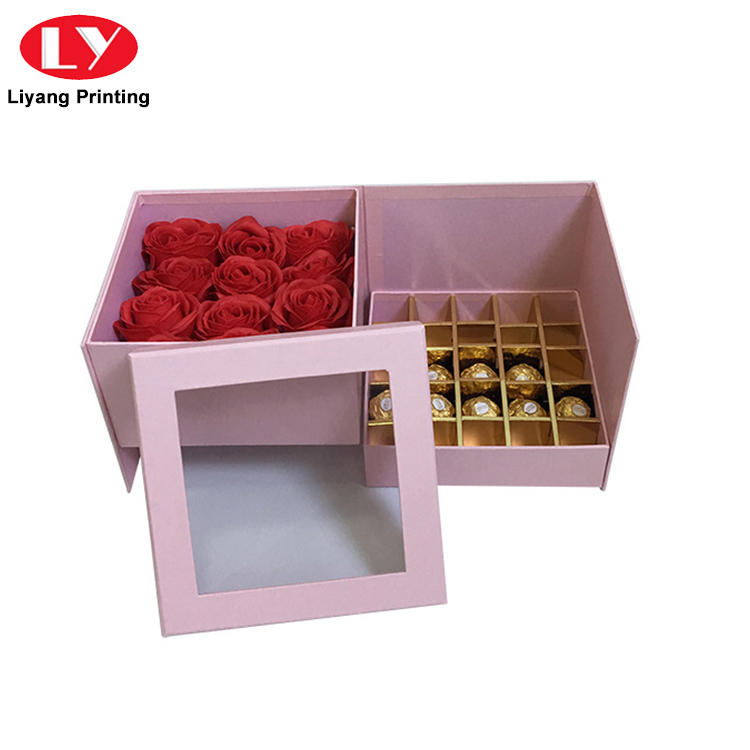Hot Sale Handmade Fancy Design Chocolate Truffle Gift Packaging Box with Lid-2