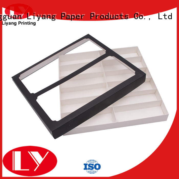 luxury gift box packaging square for chocolate Liyang Paper Packaging