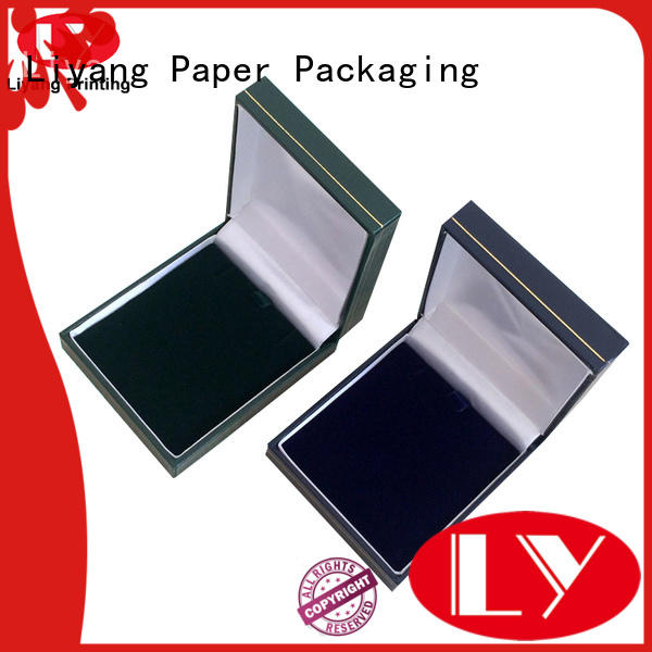 Liyang Paper Packaging recycled paper jewelry box at discount for small bracelet