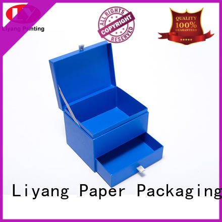 box cardboard gift boxes with lids green for bakery Liyang Paper Packaging