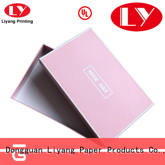 Liyang Paper Packaging foldable foldable gift boxes window for soap