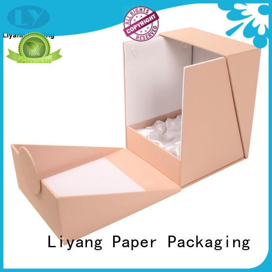 cardboard makeup packaging boxes factory price for nail polish Liyang Paper Packaging