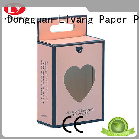 purple cosmetic box packaging suppliers factory price for brush Liyang Paper Packaging
